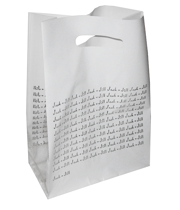 Jack and Jill Plastic Shopping Bag