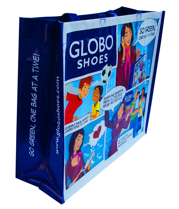 Globo Shoes Reusable Shopping Bag